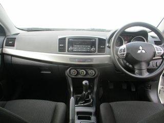 2014 Mitsubishi Lancer CJ MY14 ES White 5 Speed Manual Sedan