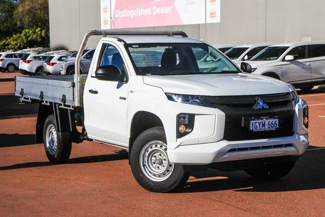 Used Mitsubishi Triton MR MY20 GLX 4x2 Cannington, 2019 Mitsubishi Triton MR MY20 GLX 4x2 White 5 Speed Manual Cab Chassis