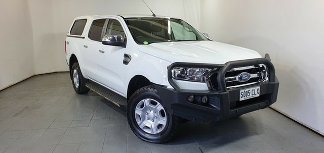 Used Ford Ranger PX MkII 2018.00MY XLT Double Cab Elizabeth, 2018 Ford Ranger PX MkII 2018.00MY XLT Double Cab White 6 Speed Sports Automatic Utility