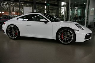 2019 Porsche 911 992 MY20 Carrera 4S PDK AWD White 8 Speed Sports Automatic Dual Clutch Coupe