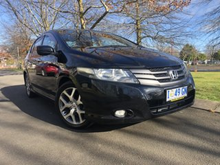 2009 Honda City GM MY09 VTi Black 5 Speed Manual Sedan.