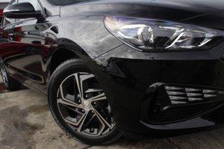 2021 Hyundai i30 PD.V4 MY21 Phantom Black 6 Speed Manual Hatchback.