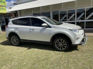2018 Toyota RAV4 ASA44R MY18 Cruiser (4x4) Crystal Pearl 6 Speed Automatic Wagon.