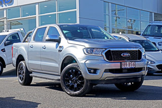 2021 Ford Ranger PX MkIII 2021.25MY XLT Silver 6 Speed Sports Automatic Double Cab Pick Up.