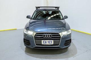 2017 Audi Q3 8U MY17 TDI S Tronic Quattro Blue 7 Speed Sports Automatic Dual Clutch Wagon.
