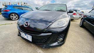 2012 Mazda 3 BL10L2 SP25 Activematic Black 5 Speed Sports Automatic Hatchback