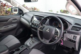 2016 Mitsubishi Triton MQ MY16 GLX 4x2 White 5 Speed Sports Automatic Cab Chassis