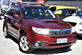 2010 Subaru Forester S3 MY10 2.0D AWD Premium Maroon 6 Speed Manual Wagon.