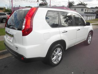 2012 Nissan X-Trail T31 ST Pearl White 1 Speed Automatic Wagon.