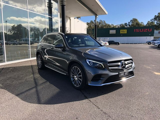 Used Mercedes-Benz GLC-Class X253 807MY GLC250 d 9G-Tronic 4MATIC Epsom, 2017 Mercedes-Benz GLC-Class X253 807MY GLC250 d 9G-Tronic 4MATIC Grey 9 Speed Sports Automatic