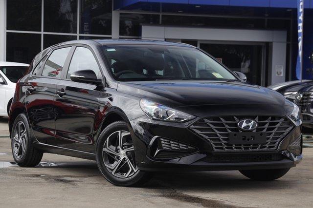 New Hyundai i30 PD.V4 MY21 Beaudesert, 2021 Hyundai i30 PD.V4 MY21 Phantom Black 6 Speed Manual Hatchback