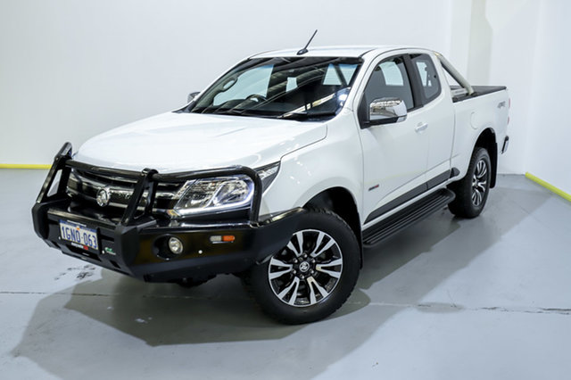 Used Holden Colorado RG MY18 LTZ Pickup Space Cab Canning Vale, 2018 Holden Colorado RG MY18 LTZ Pickup Space Cab White 6 Speed Sports Automatic Utility