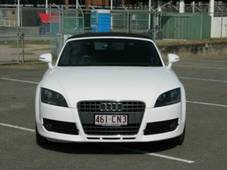2008 Audi TT 8J 2.0 TFSI White 6 Speed Direct Shift Roadster.