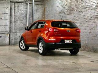 2011 Kia Sportage SL SI Orange 6 Speed Sports Automatic Wagon