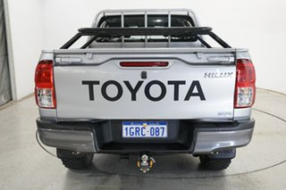 2018 Toyota Hilux GUN126R SR Double Cab Silver 6 Speed Sports Automatic Utility