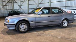 1990 BMW 5 Series E34 525i Executive Blue 4 Speed Automatic Sedan.