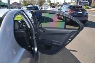 2012 Mitsubishi Lancer CJ MY13 LX Silver 6 Speed CVT Auto Sequential Sedan