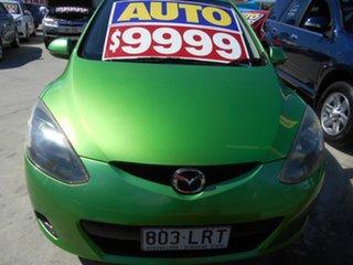 2009 Mazda 2 DE10Y1 Neo Green 4 Speed Automatic Hatchback.