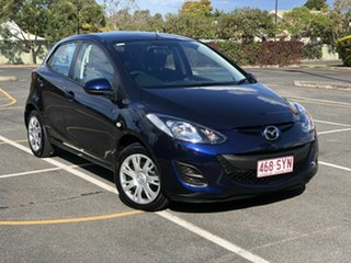 2013 Mazda 2 DE10Y2 MY13 Neo Blue 4 Speed Automatic Hatchback.