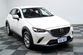 2018 Mazda CX-3 DK2W76 Neo SKYACTIV-MT White 6 Speed Manual Wagon