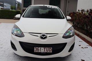 2013 Mazda 2 DE10Y2 MY14 Neo Sport White 4 Speed Automatic Hatchback.