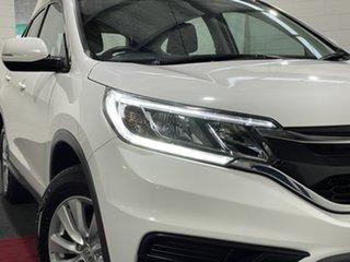 2016 Honda CR-V RM Series II MY17 VTi White 5 Speed Automatic Wagon.