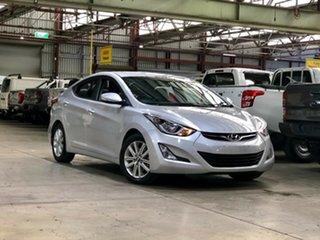 2014 Hyundai Elantra MD3 Elite Silver 6 Speed Sports Automatic Sedan.