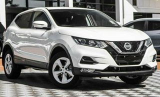 2021 Nissan Qashqai MY20 ST+ Ivory Pearl Continuous Variable Wagon.