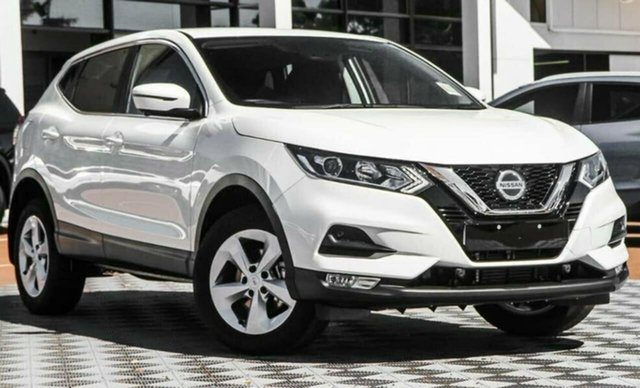 Demo Nissan Qashqai MY20 ST+ Castle Hill, 2021 Nissan Qashqai MY20 ST+ Ivory Pearl Continuous Variable Wagon
