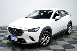 2018 Mazda CX-3 DK2W76 Neo SKYACTIV-MT White 6 Speed Manual Wagon.
