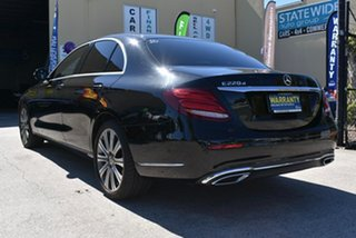 2017 Mercedes-Benz E220 213 MY18 D Black 9 Speed Automatic G-Tronic Saloon.