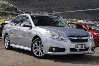 2012 Subaru Liberty B5 MY13 2.5i Lineartronic AWD Premium Silver 6 Speed Constant Variable Sedan.