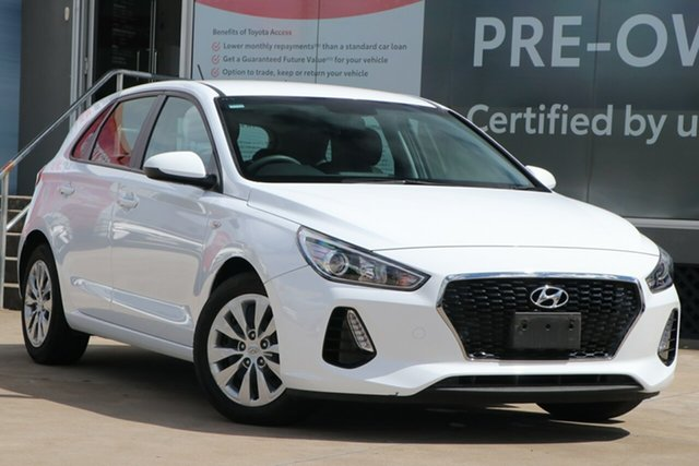 Pre-Owned Hyundai i30 PD MY19 Go Guildford, 2019 Hyundai i30 PD MY19 Go White 6 Speed Automatic Hatchback