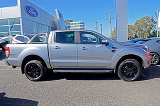 2021 Ford Ranger PX MkIII 2021.25MY XLT Silver 6 Speed Sports Automatic Double Cab Pick Up