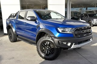 2018 Ford Ranger PX MkIII 2019.00MY Raptor Blue 10 Speed Sports Automatic Utility