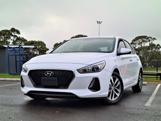 2018 Hyundai i30 PD2 MY18 Active White 6 Speed Sports Automatic Hatchback