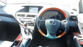 2011 Lexus RX GGL15R MY11 RX350 Prestige Silver 6 Speed Sports Automatic Wagon
