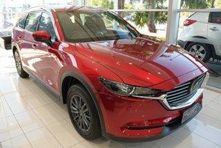 2021 Mazda CX-8 KG2WLA Touring SKYACTIV-Drive FWD Platinum Quartz 6 Speed Sports Automatic Wagon.