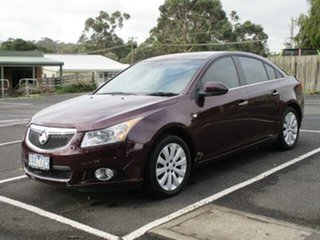 2013 Holden Cruze JH Series II CDX Burgundy Auto Seq Sportshift Sedan.