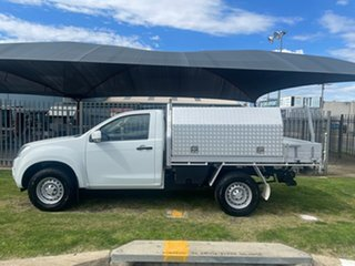 2016 Isuzu D-MAX TF MY15.5 SX (4x4) White 5 Speed Automatic Cab Chassis.