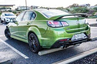2016 Holden Commodore VF II MY16 SS V Redline Green 6 Speed Sports Automatic Sedan.