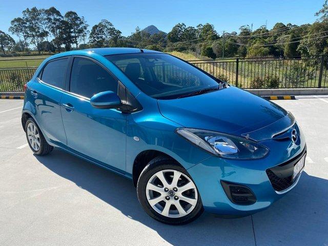 Used Mazda 2 DE10Y2 MY14 Neo Sport Cooroy, 2014 Mazda 2 DE10Y2 MY14 Neo Sport Blue 5 Speed Manual Hatchback