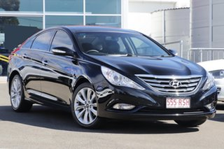 2011 Hyundai i45 YF MY11 Premium Black 6 Speed Sports Automatic Sedan.
