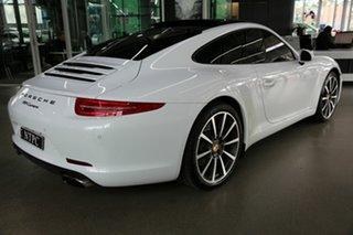 2015 Porsche 911 991 MY15 Carrera PDK White 7 Speed Sports Automatic Dual Clutch Coupe