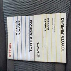 2005 Toyota RAV4 ACA23R Cruiser Red 5 Speed Manual Wagon