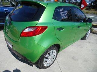 2009 Mazda 2 DE10Y1 Neo Green 4 Speed Automatic Hatchback