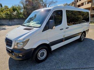 2014 Mercedes-Benz Sprinter 319CDI White 7 Speed Automatic Van