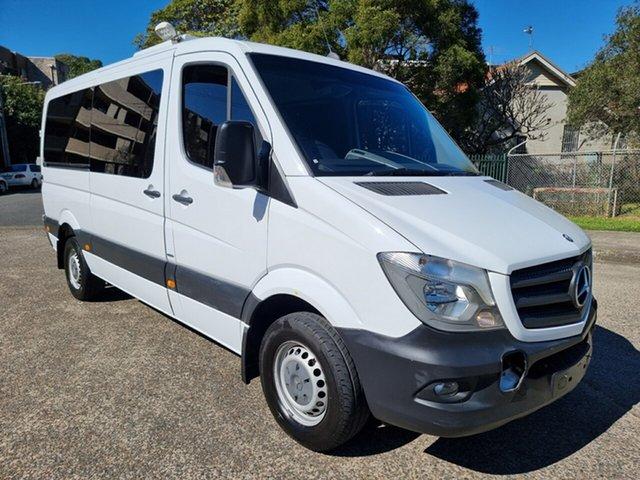 Used Mercedes-Benz Sprinter Homebush West, 2014 Mercedes-Benz Sprinter 319CDI White 7 Speed Automatic Van
