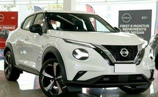 2021 Nissan Juke F16 ST-L Ivory Pearl 7 Speed Auto Dual Clutch Hatchback.