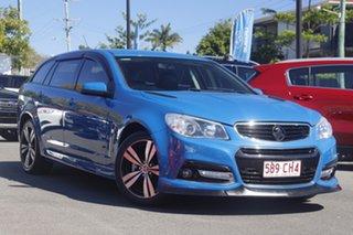 2015 Holden Commodore VF MY15 SV6 Sportwagon Blue 6 Speed Sports Automatic Wagon.